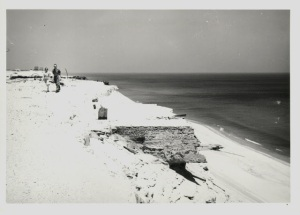 Remains of Marconi in 1941. Photo J.C. Hicks
