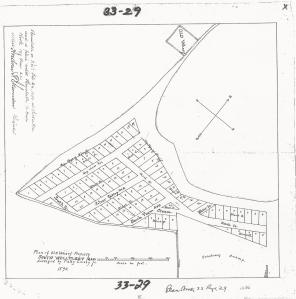 The Old Wharf Property Plan 1890