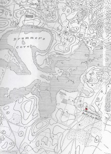 Topographical Map, South Wellfleet showing Congregational Church triangulation Point